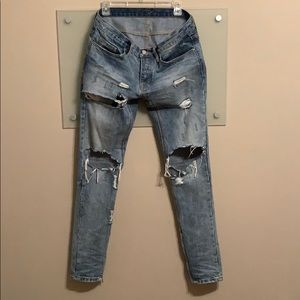 Mnml Distressed Jeans